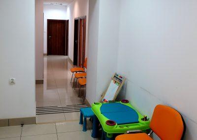 Centrum Stomatologiczne Demed Wołomin - poczekalnia dla dzieci