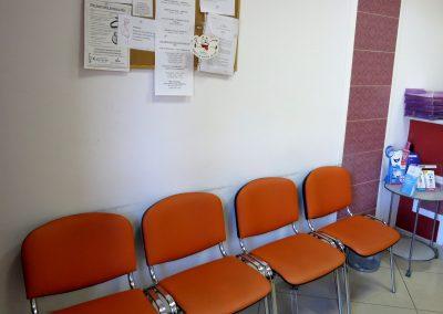 Centrum Stomatologiczne Demed Wołomin - rejestracja z poczekalnią